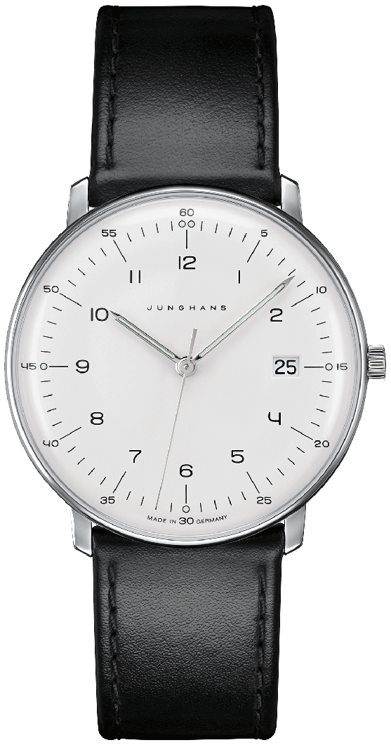 Junghans Herrenuhr Max Bill Graphische Reihen Sonderedition 2017